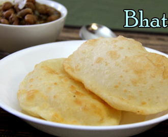 Bhatura Recipe – How to Make Bhature – Chole Bhature Recipe