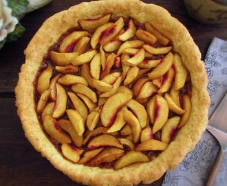 Peach pie | Food From Portugal