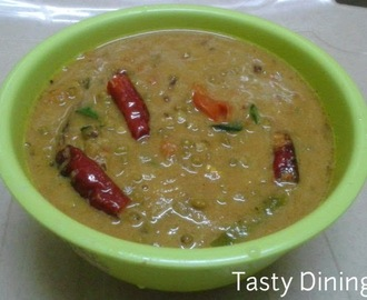 Green Gram(Cherupayar) Curry