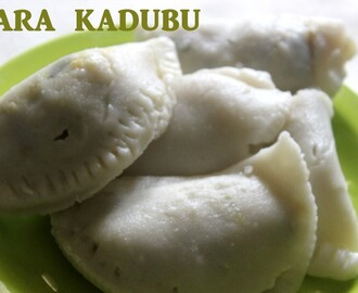 Kara  kadubu recipe – How to make kara kadubu (steamed spicy dumplings) recipe