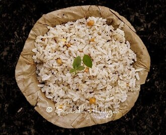 MILAGORAI / PEPPER BHATH / PEPPER RICE / MILAGU ORAI / MOLAG OGARE/ MILAGU SADHAM
