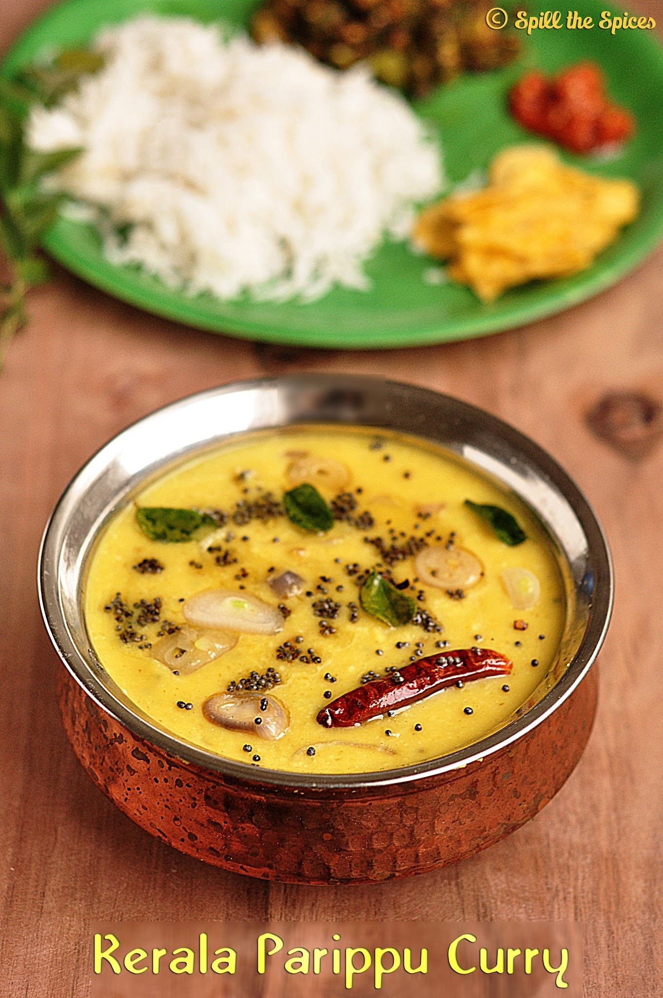 Kerala Parippu Curry | Sadya Recipes
