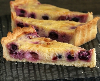 Thermomix Blueberry & Lemon Tart