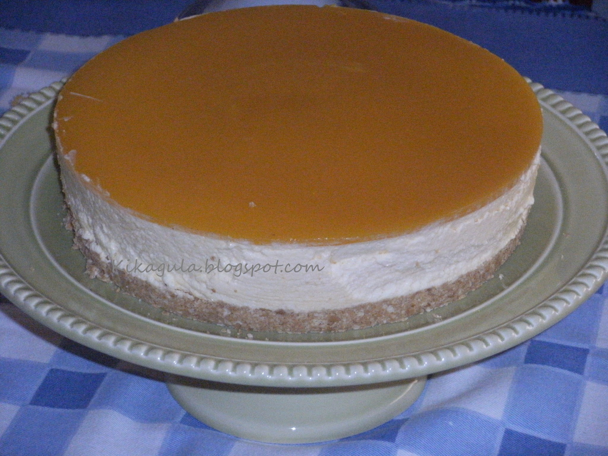 Cheese cake de manga