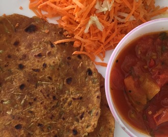 Paneer Cabbage Paratha | Proteinicious flatbread | Easy lunchbox options