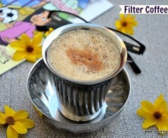 Filter Coffee (South Indian Style)