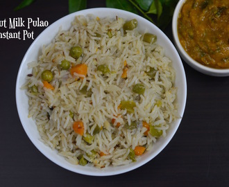 Instant Pot Coconut Milk Pulao|Coconut Milk Rice Recipe