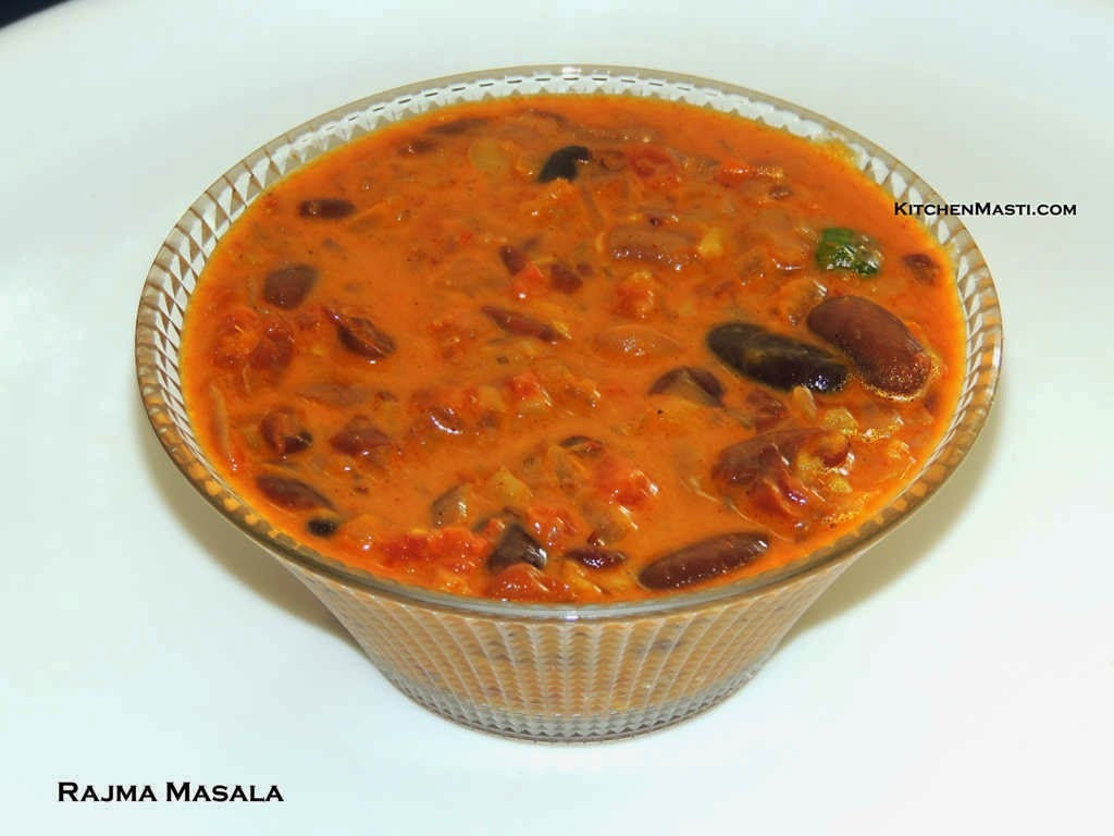 Rajma Masala Curry / Red Kidney Beans Curry