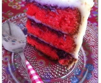 Layer Cake fruits rouges !