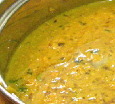 Raw Turmeric Curry Recipe