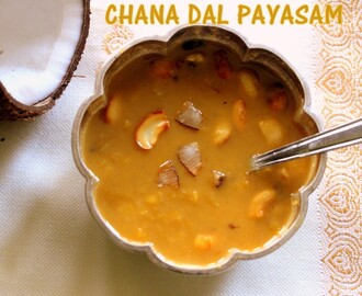 Chana dal payasam/kheer – How to make Kadalai paruppu payasam | Parappu pradhaman