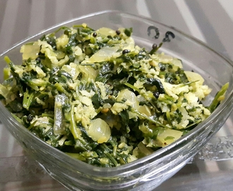 Methi chi Bhaji (Fenugreek Leaves Vegetables )