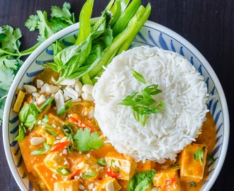 Tofu Panang Curry