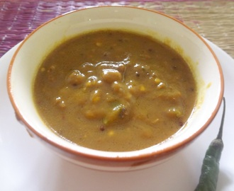 PULI MILAGAI ( SPICY TANGY TAMRIND GREEN CHILLIES SAUCE )