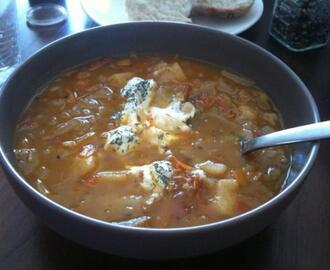 Shchi - Russian Cabbage Soup
