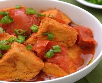Vietnamese Tofu With Tomato Sauce Recipe