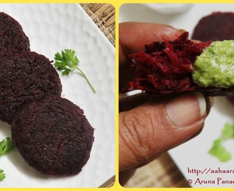 Beetroot Tikki | Beetroot Cutlet: Recipe by Heena Jhanglani