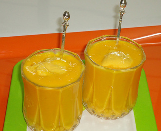 Mango mastani using mango milk shake and mango ice cream recipe