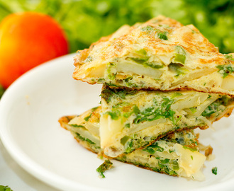 Spanish Omelette : All in one breakfast recipe
