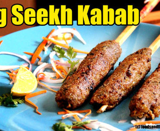 Veg Seekh Kabab Recipe -Soya Seekh Kabab – Snacks Recipes