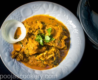Chettinad Mutton / Chettinad Goat Curry