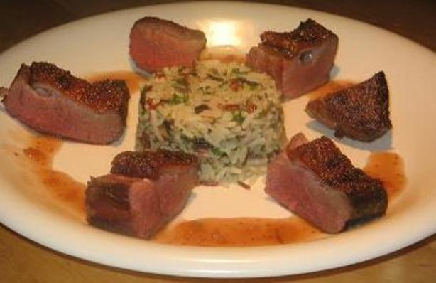 Susan's Duck Breast With Fig and Port Sauce