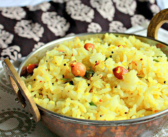 Chitranna, Karnataka Style Lemon Rice