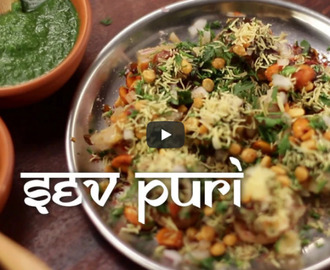 Sev Puri Recipe Video