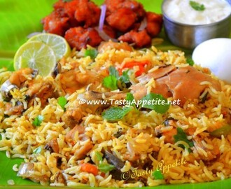 Chettinad Chicken Biryani / Chicken Dum Biryani - Easy Video Recipe