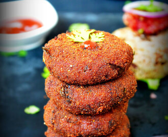 BEETROOT CUTLET ( TIKKI ) / BEETROOT PATTIES RECIPE