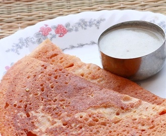 Adai Dosa Recipe-How To Make Adai-Ada Dosa