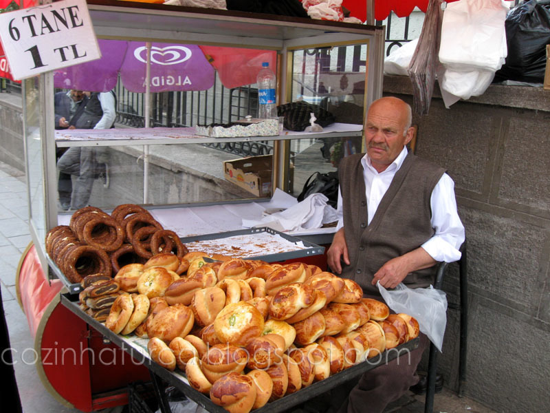Vendedor de Simit (Simitçi)
