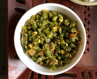 Beans Thoran | Kerala style French Beans Thoran | Green Beans Poriyal | Onam Sadhya Recipes
