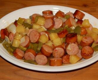 Sweet & Sour Kielbasa
