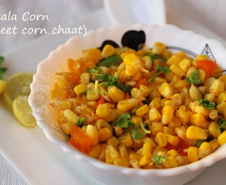 MASALA CORN RECIPE -  SWEET CORN INDIAN  RECIPE / INSTANT CORN SNACKS