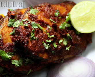 Anjal Fish Tawa Masala Fried