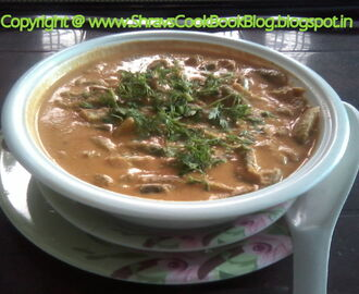 Tindora - Dondakaya Masala curry - How to make Ivy Gourd gravy recipe