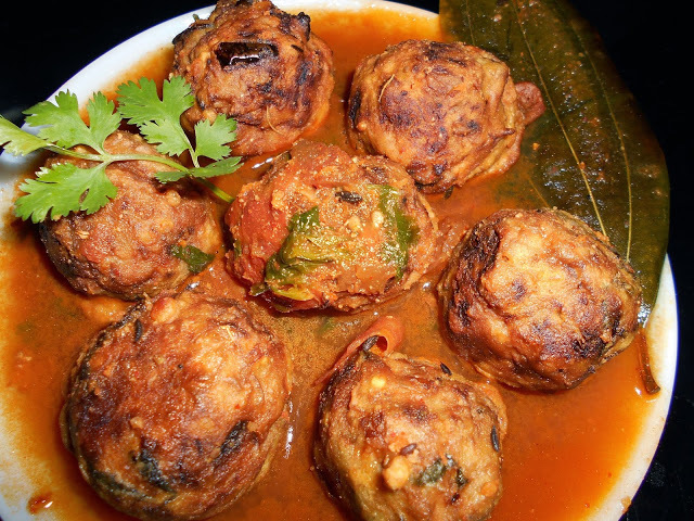 Kathal  ( Jack  Fruit ) Kofta  Curry ( Vegetables Recipe )