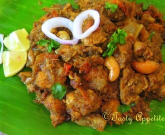 Mutton Sukka, Mutton Sukka Fry Recipe / Video Recipe