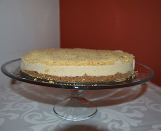 Cheesecake de manteiga de amendoim