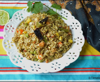 Multi Grain Rava Upma