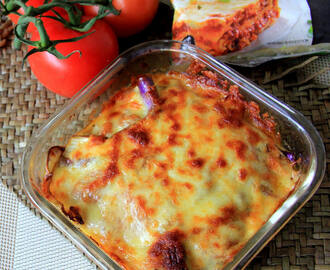 Aubergine Mozzarella bake recipe - Eggplant Mozzarella bake recipe - Snack Recipes - Kids friendly recipe - Party recipes