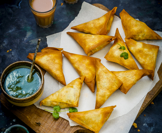Potato and Peas Samosa #AirfryerTakeIn