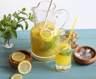 Limonada abacaxi | Pineapple lemonade