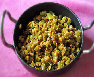 Beans Pallya / French Beans Stir Fry ( Sabzi ) Recipe