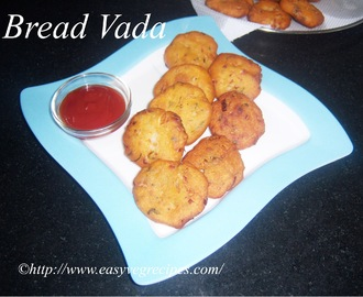 Bread Vada Recipe -- How to make Bread Vada