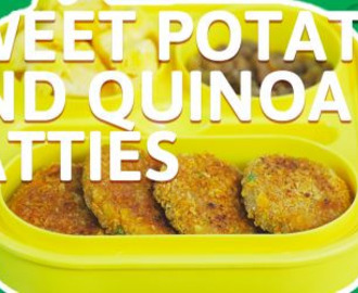 Sweet potato and quinoa patties recipe
