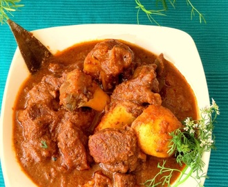 Kosha Mangsho (Bengali Mutton Curry)