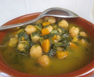 GARBANZOS VEGETARIANOS