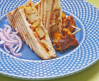 'Tandoori Aloo Sandwich' Using The Newly Launched Borosil Jumbo Grill: A Product A Review